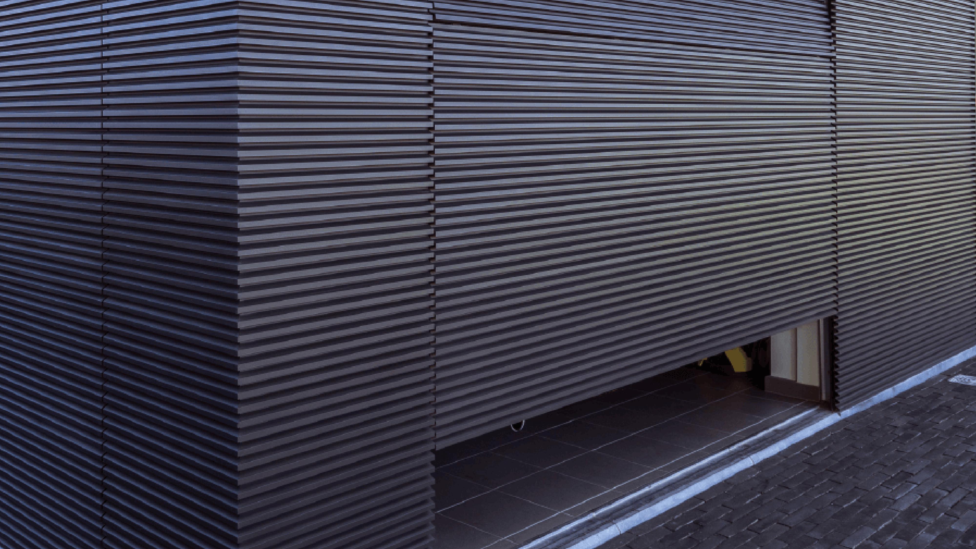 Alu-Wall Bekleding Secionale Poort Aluminium Profielen