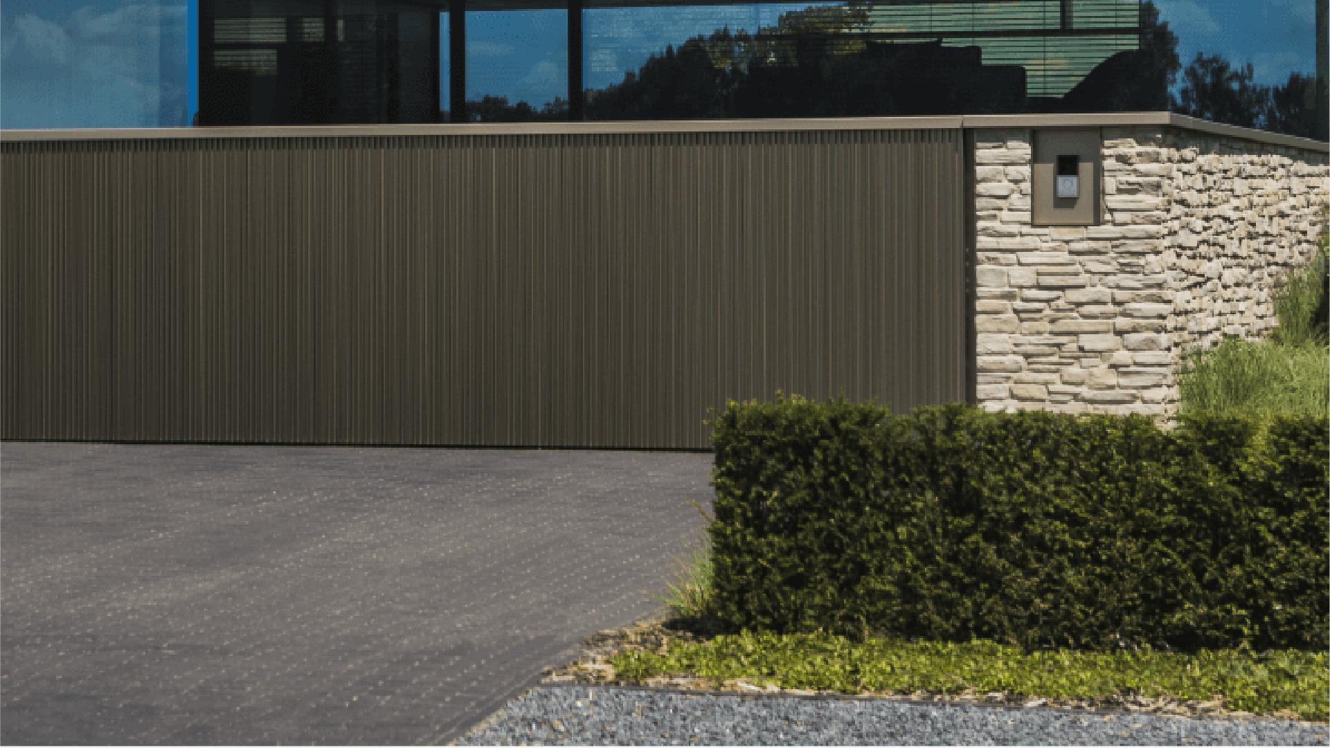 Alu Wall Hekwerk Afsluiting Aluminium Linarte
