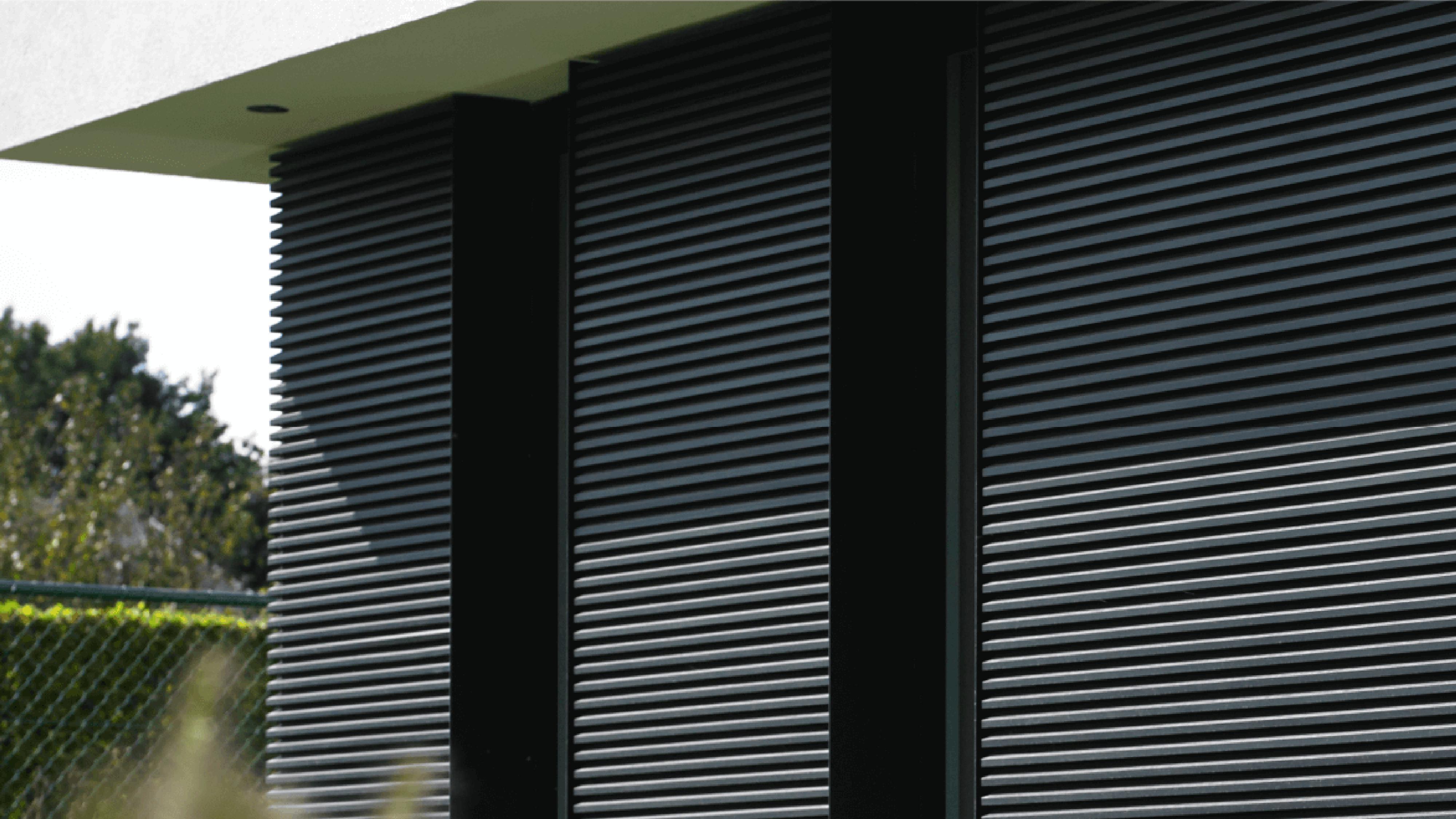 Alu-Wall Horizontale Open Gevelbekleding
