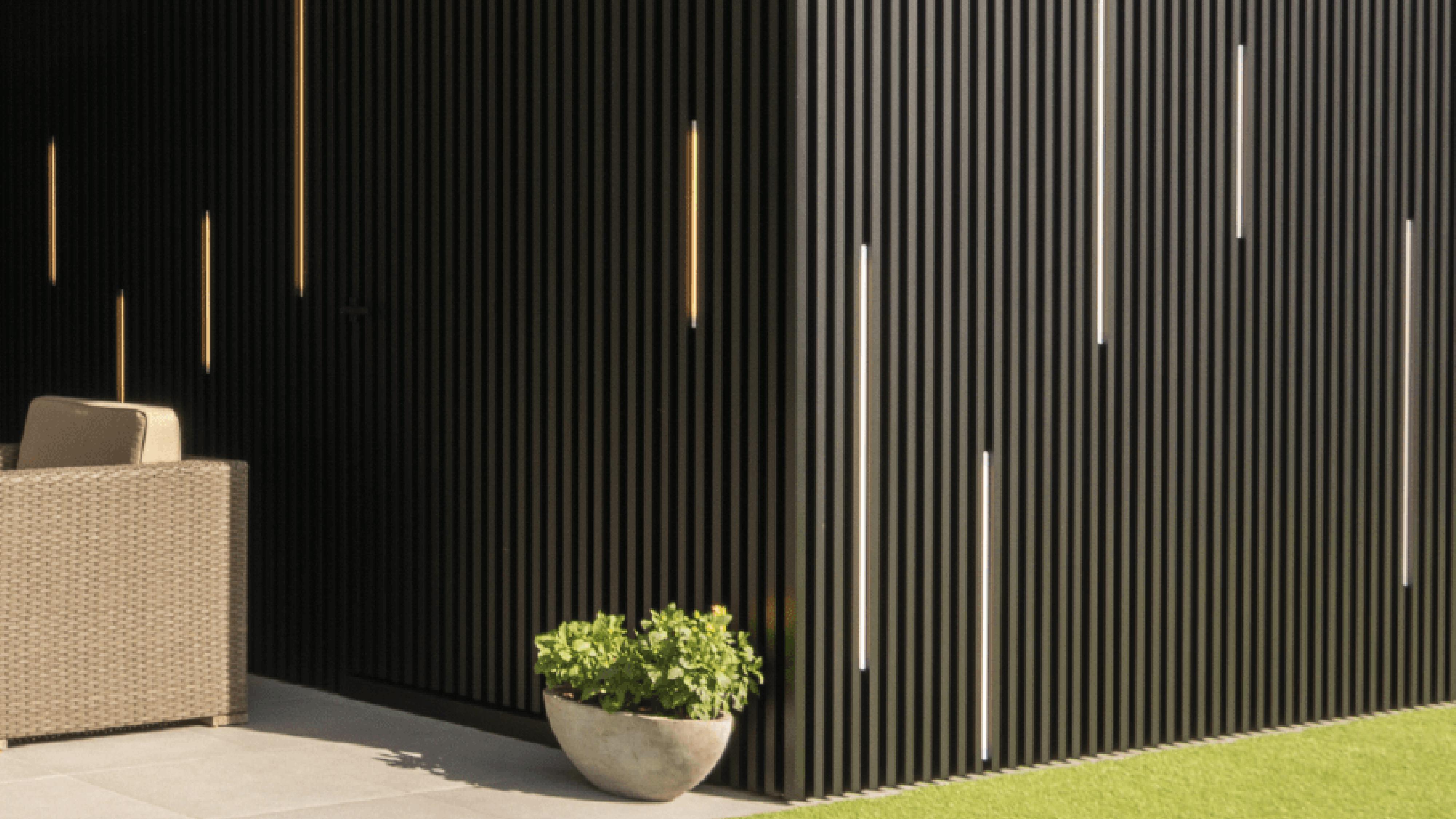Alu-Wall Linarte Renson met verlichting