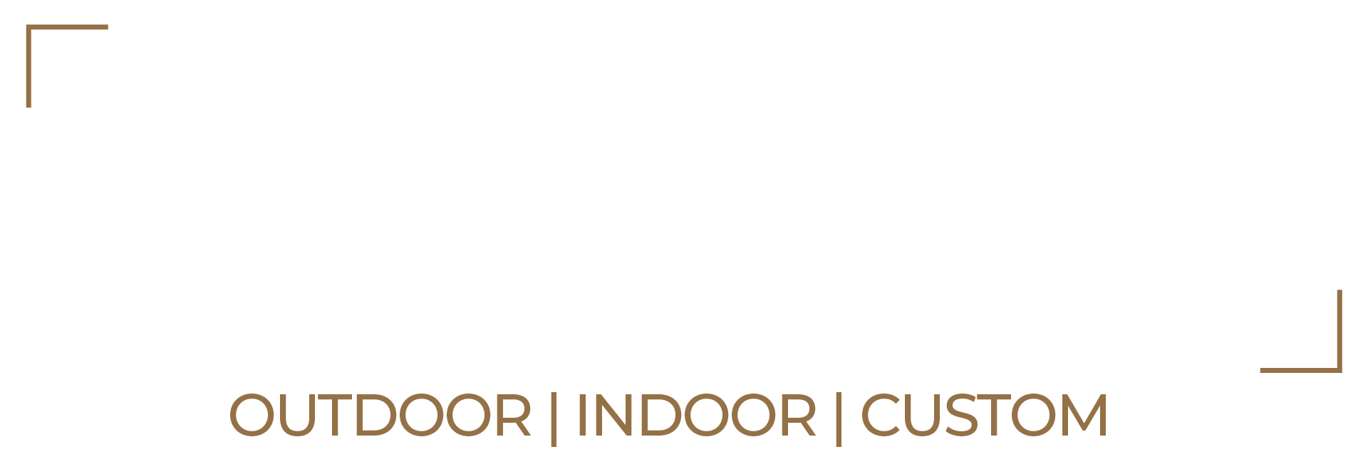 Alu-Wall Logo Wit