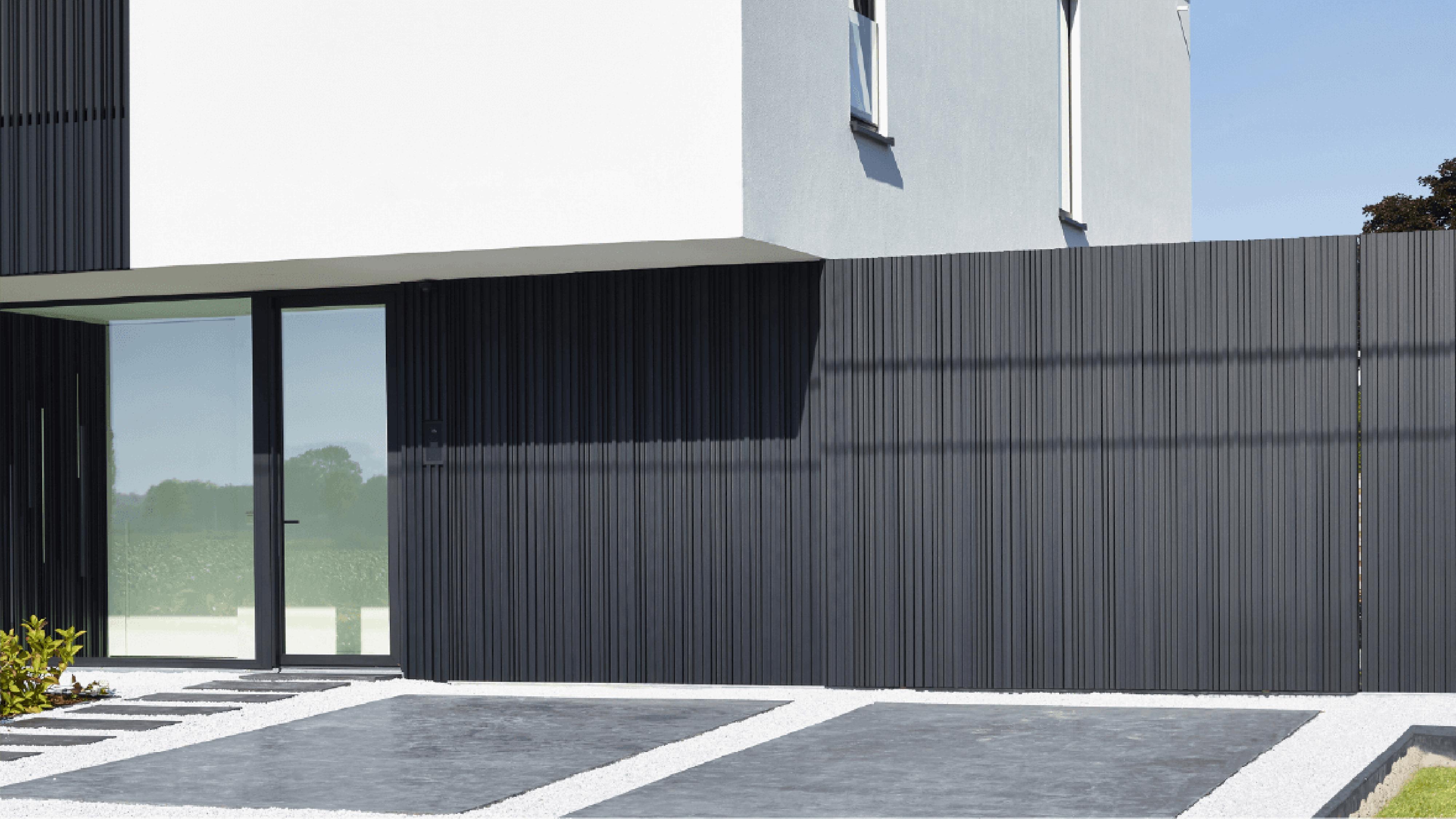Alu-Wall Schuifpoort Aluminium Profielen