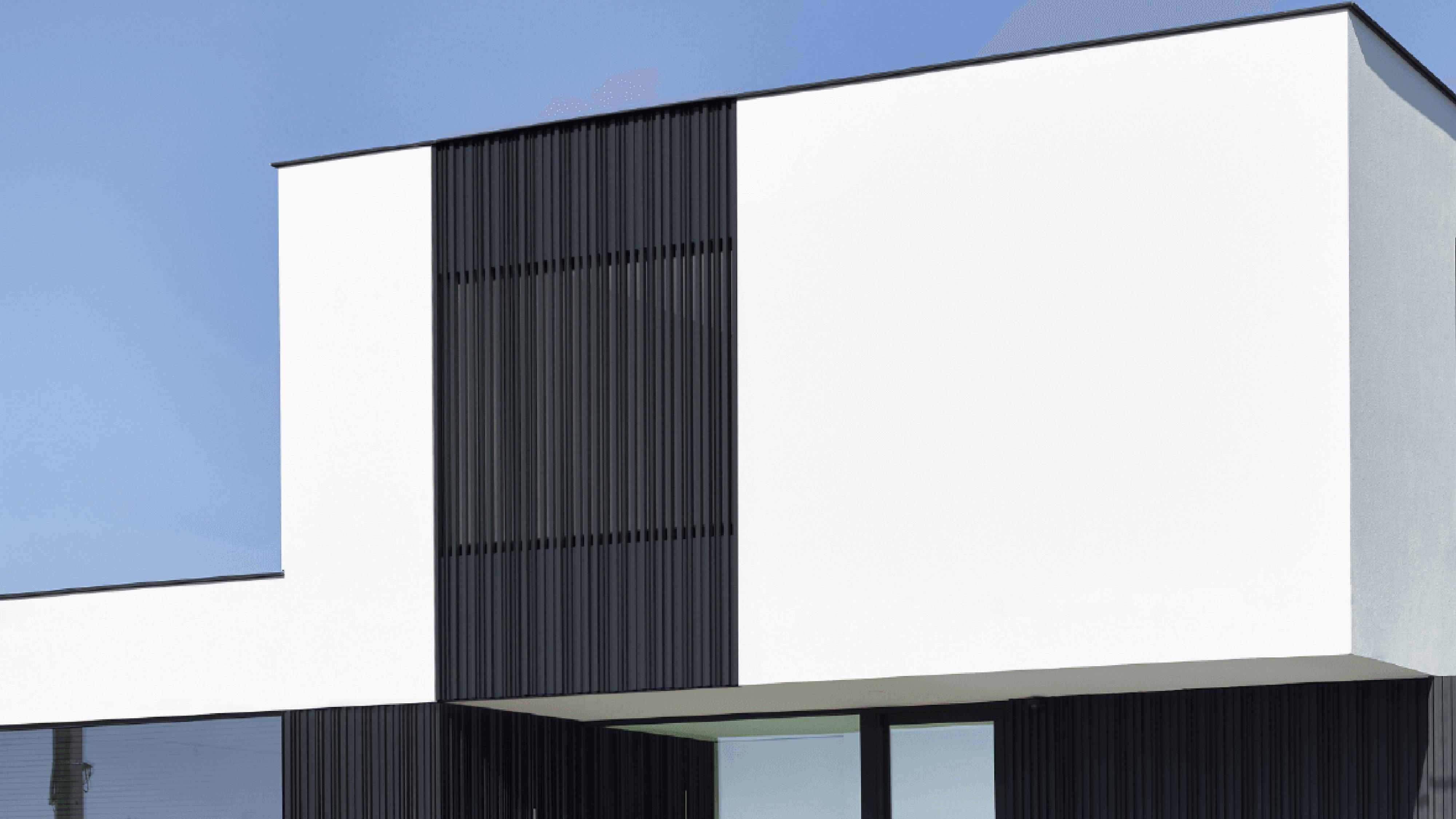 Alu-Wall Verticale Aluminium Gevelbekleding Renson
