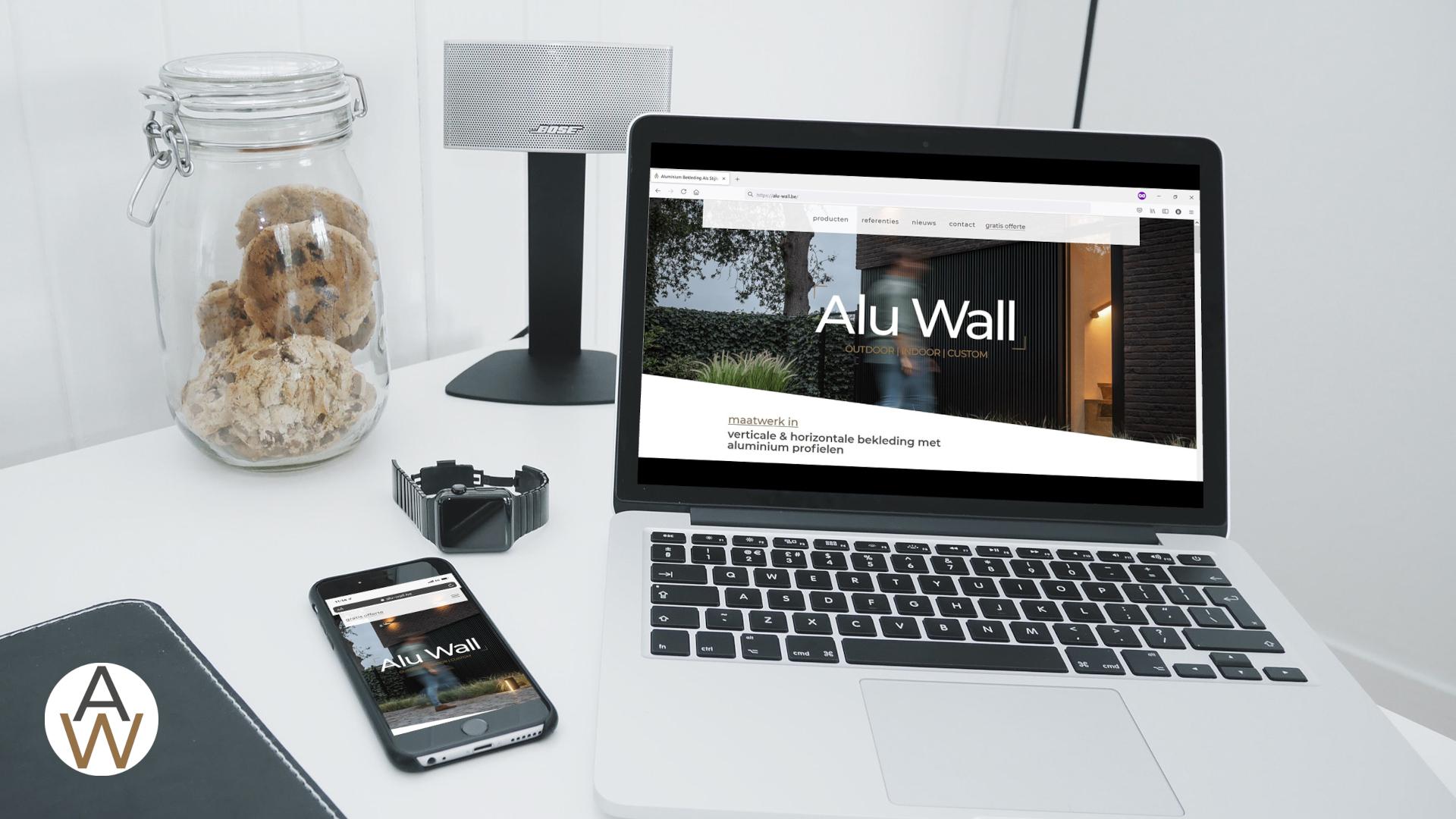 Alu Wall website live